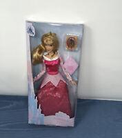 "Disney Classic Doll PRINCESS AURORA With Pendant 11.5"" Sleeping Beauty NEW"