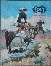 Colt-Tex & Patches #1594 mancave garage automotive metal sign nostalgia