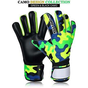Goalkeeper Gloves Finger Saver Boys Youth Football Goalie Roll Finger Size 4-10