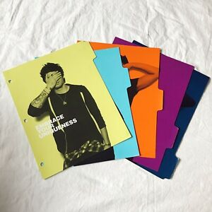 5 One Direction Binder Dividers