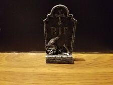 RIP Cement Tombstone C for Barbie, Monster High, Tonner Halloween Dioramas