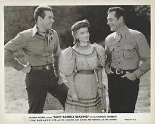 Charles Starrett - Both Barrels Blazing (1940)8 x 10 Original Promotional Photo
