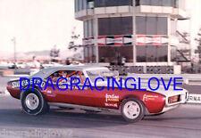 """FLASH"" Gordon Mineo 68 Pontiac ""Superbird"" Firebird NITRO Funny Car PHOTO! #(1)"