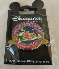 DLRP PIN'S WALT DISNEY LAND RESORT PARIS PIN TRADING NIGHT CARS FRANCESCO EL400