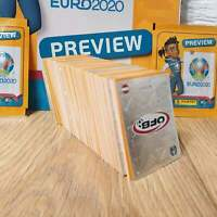 HOT EURO 2020 PREWIEW PANINI SET (no album) orange mint  HOT HOT
