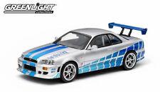 1:43 Fast & FURIOUS Modellino Film - Brian's 1999 NISSAN SKYLINE GT-R
