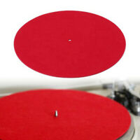 Turntable Mat 3mm Felt Platter Record Players Anti-Vibration Durable Anti-Sta QA