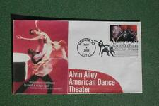 American Choreographers Alvin Ailey Stamp FDC William Cachet S#3841 Dancer 14989