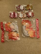 autumn leaves Display Lights And Scatter Leaves Halloween
