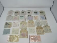 Vintage Fishing License Collection - 1938 is oldest