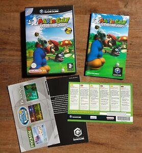 Mario Golf Toadstool Tour (Nintendo GameCube 2004) PAL Complete EXCELLENT cond.
