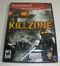 ps2 Killzone video game Factory Sealed