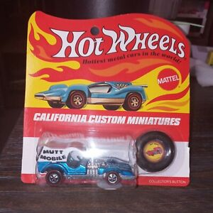 Hot Wheels Redline Mutt Mobile Blister Pack 1971