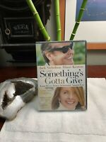 Somethings Gotta Give (DVD, 2004) Factory Sealed BRAND NEW