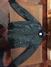 black leather jacket orginal Diesel Size XXL