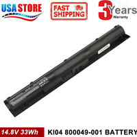 Battery for HP Pavilion 800049-001 HSTNN-LB6S 14/15/17-ab000 800009-241 KI04 PC
