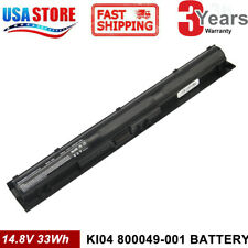 KI04 Laptop Battery for HP Pavilion K104 800049-001 HSTNN-LB6S 17-G Series