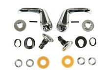 1967 Camaro Or Firebird Chrome Vent Window Handle & Pivot Stud Kit