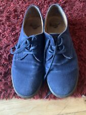 Dr Martens - Delray Twill - Canvas Shoes - UK Size 9 - Blue
