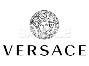 Versace vinyl iron on transfer (any color)