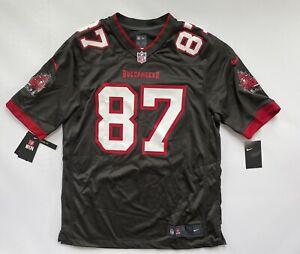 Rob Gronkowski Tampa Bay Buccaneers Nike Alternate Game Jersey Large DEFECT