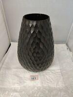 Authentic Handicrafts Carved Wooden Vase Thailand