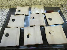 8 X SUEDE HAND PROTECTORS FOR BUFFERS & POLISHERS DIY