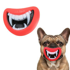 Halloween Christmas Vogue Funny Pet Dog Teeth Toy Puppy Chew Sound Dogs Toys  AU