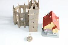 Kibri 6401 Ruinas Klostergarten Con Casa Escala Z + Top +