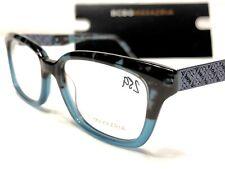 NEW BCBG MaxAzria Simona Women's Blue Tortoise Rx Eyeglasses Frames 52/16~140