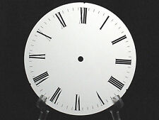 Vintage Clock Face Mantle Grandfather Wall Repair Gruner Germany Steampunk