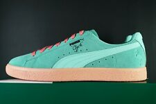 PUMA X CLYDE SOUTH BEACH FLAMINGO SNEAKERS RARE OG DS SUEDE LACE UP TRAINERS NEW
