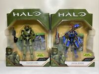Lot 2 HALO Infinite Action Figures 3.75 Master Chief & Jackle Sniper Bundle NEW