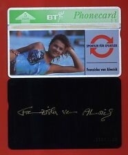 "UNITED KINGDOM: BTO-022A Sports Series (1) ""Franky Van Almsick"" (with Signature)"