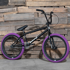 "2017 SUNDAY BIKE BMX BLUEPRINT 20"" BLACK BICYCLE FIT CULT KINK HARO PRIMO"
