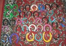 Large Collection of Painted Horseshoes