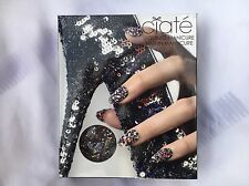 CIATE SEQUINED MANICURE KIT/FULL SIZE NAIL POLISH/step by step instructions