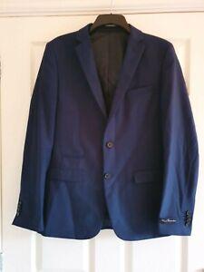 French connection blue slim blazer, size 40, Brand New