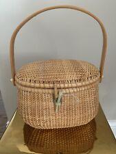 Summertime Boardwalk Market Basket Purse Bag Combo Fun Bag!!