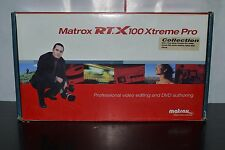 Matrox RT.X100 Xtreme Pro COLLECTION Video Card WORKING BOXED