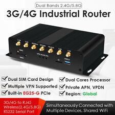Dual SIM 4G LTE Industrial WiFi Wireless Router WBundled EG25-G Mini PCIe Global