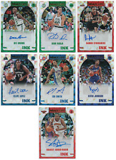 2018-19 Hoops Hoops Ink Auto Pick Any Complete Your Set