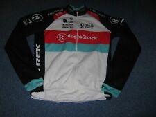 RADIOSHACK LEOPARD TREK CRAFT UCI WORLD TOUR L/S CYCLING JERSEY [L] ..