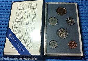 1990 Canada Uncirculated Coin Set