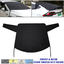 600D Front Rear Car Windshield Snow Cover Sun Shade Viosr Rain Dust Frost Guard
