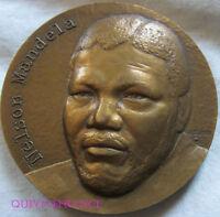 MED7840 - MEDAILLE NELSON MANDELA par COPPIN