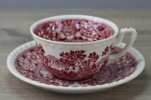 Villeroy & Boch V&B Rusticana rot Teetasse Tasse mit Untertasse