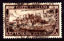 ITALY #518 100L BROWN, 1949, VF, CDS