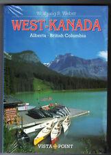 Vista Point Reiseführer    WEST KANADA   Alberta  British Columbia  Canada  OVP