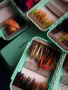 Two Irideus Tribute Tube Fly Boxes Fishing Box Tube Flies  Streamer Steelhead